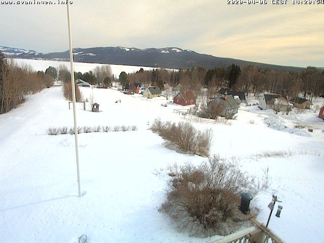 Webcam in Svaningen